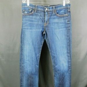 David Khan Women's Jeans Size 30 Dark Wash Boot Cu